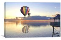 Balloon Flight, Canvas Print