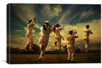 Dancers, Canvas Print