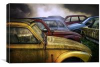 Cars, Canvas Print