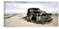 Abandoned Truck, Canvas Print