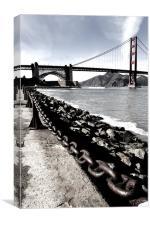 Golden Gate Bridge, Canvas Print