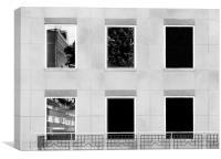 Three Reflections, Canvas Print