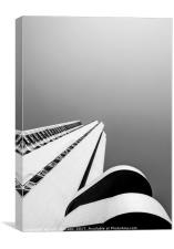 Vertical Living, Canvas Print