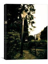 Garden Lamp, Canvas Print