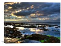 Seahouses Northumberland, Canvas Print