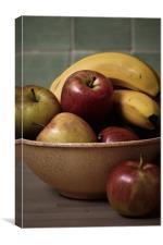 Fruit Bowl, Canvas Print