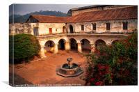 Las Capuchinas Convent Ruins, Canvas Print