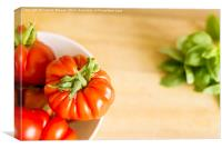 Simply Tomatoes 4, Canvas Print