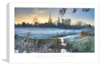 Worcestershire, Canvas Print