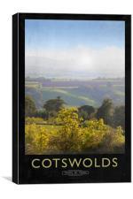 Cotswolds, Canvas Print