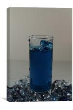 Shot Glass Tsunami, Canvas Print
