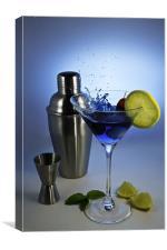 Cocktail Splash, Canvas Print
