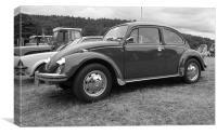 VW Beatle, Canvas Print