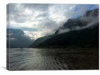Morning on the Yangtze, Canvas Print