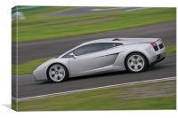Lamborghini Gallardo, Canvas Print