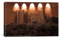 Arundel Castle, Arundel, West Sussex, Canvas Print