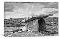 Neolithic Dolmen in Ireland, Canvas Print