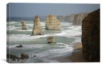 twelver apostel Great Ocean Road, Canvas Print