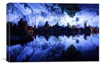 Reed Flute Cave in Guilin, China, Canvas Print