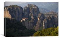 Meteora Monastery Greece, Canvas Print