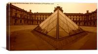 Musee du Louvre , Canvas Print