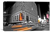 Hard Rock Times Square, Canvas Print