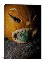 Pumpkin, Canvas Print