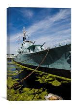 HMS Cavalier, Canvas Print