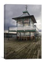 Clevedon Vintage Pier, Canvas Print
