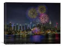 NYC Celebrates Fleet Week, Canvas Print