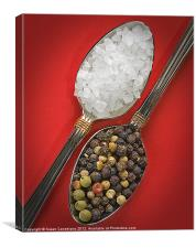 Spoonfuls of Salt and Pepper, Canvas Print