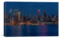 New York City Lights, Canvas Print