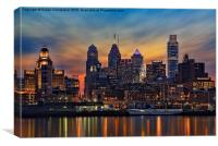 Philadelphia Skyline, Canvas Print