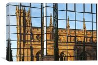 Glasgow St Andrews Cathedral, Canvas Print