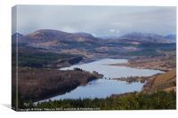 Loch Garry Scotland, Canvas Print