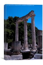 Ancient Olympia in Greece, Canvas Print