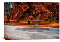 Autumn Park, Canvas Print