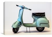 Model Moped, Canvas Print
