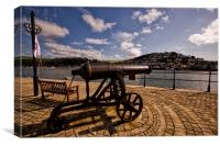 The Cannon, Canvas Print