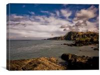 Rapparee Cove at Ilfracombe, Canvas Print