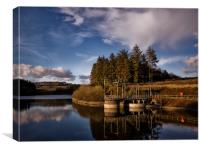 Wistlandpound Reservoir, Exmoor, Canvas Print