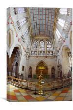 St Edmundsbury Cathedral, Canvas Print