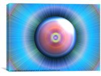 Abstract eye, Canvas Print
