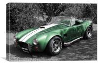 Green Cobra, Canvas Print