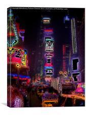 Time Square, Canvas Print