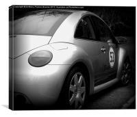 VW Beetle, Canvas Print
