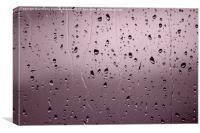 Rain Drops, Canvas Print