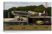 Vintage Spitfire Aircraft, Canvas Print