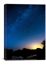 The Milky Way, Canvas Print