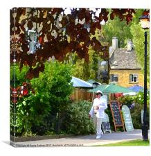 In the cotswolds 2, Canvas Print